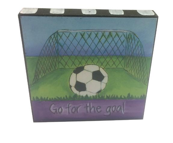 Inspirational Soccer Plaque