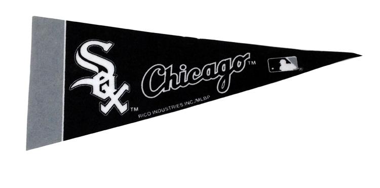 Chicago White Sox - Team Pennant - Sports Team Logo Gifts - Santa Shop Gifts