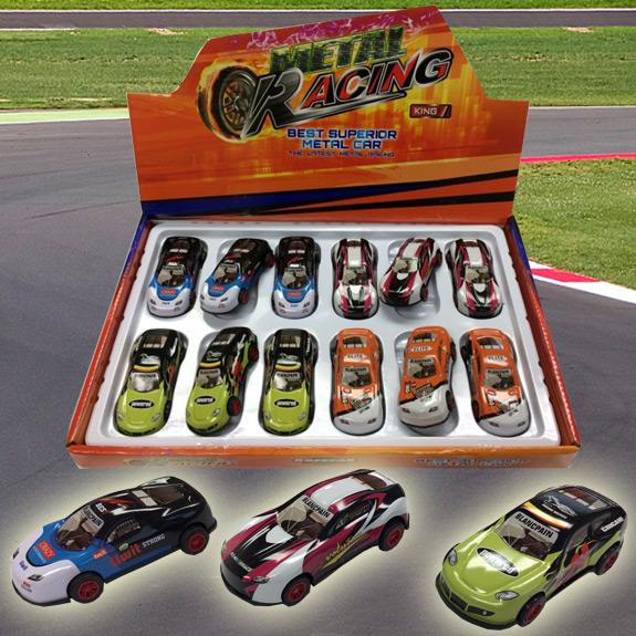 Metal Racing Car