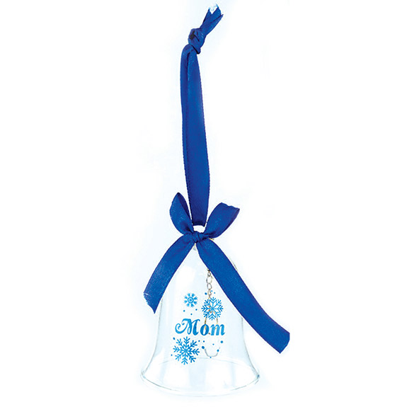 Mom Bell Ornament - Mom Gifts - Santa Shop Gifts