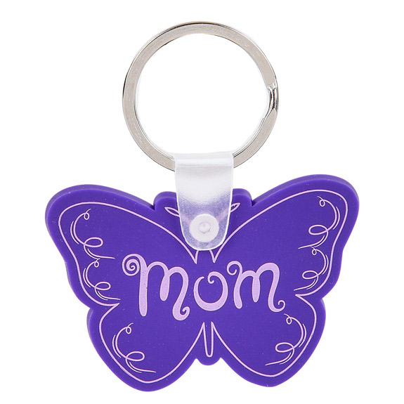 MOM BUTTERFLY KEYCHAIN - Mom Gifts - Santa Shop Gifts
