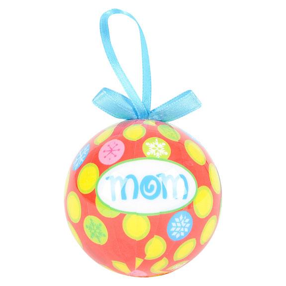 Mom Ornament - Mom Gifts - Santa Shop Gifts