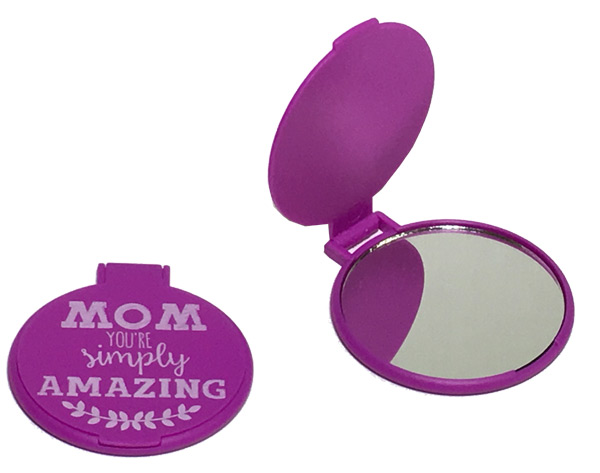 Mom Compact Flip Mirror - Mom Gifts - Santa Shop Gifts