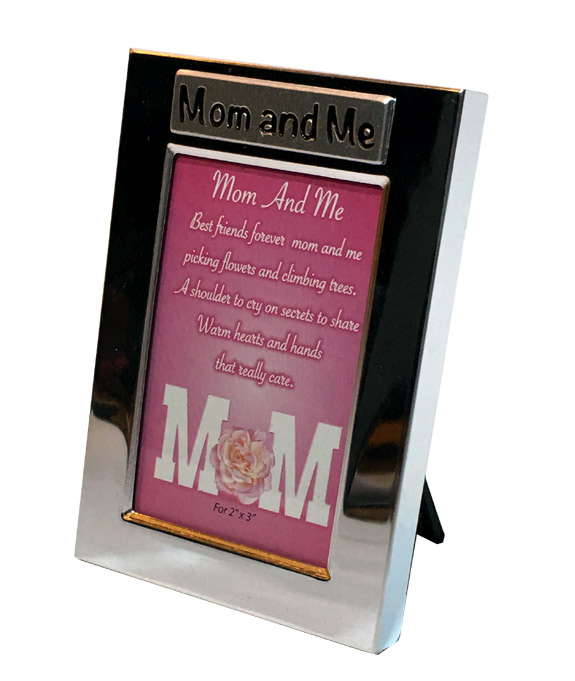 Mom and Me Silver Photo Frame