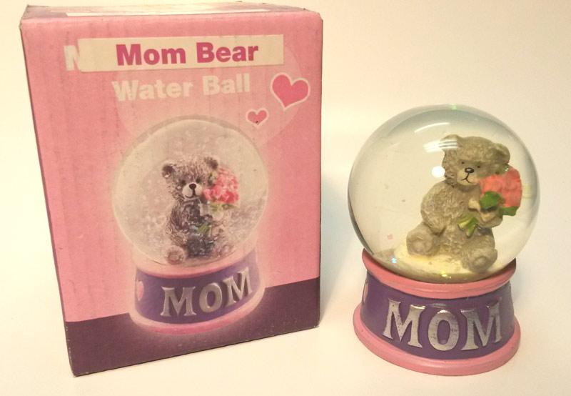 Mom Bear Water Ball - Mom Gifts - Santa Shop Gifts