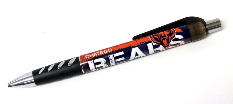 Chicago Bears NFL Sprinter Pen - Sports Team Logo Gifts - Santa Shop Gifts