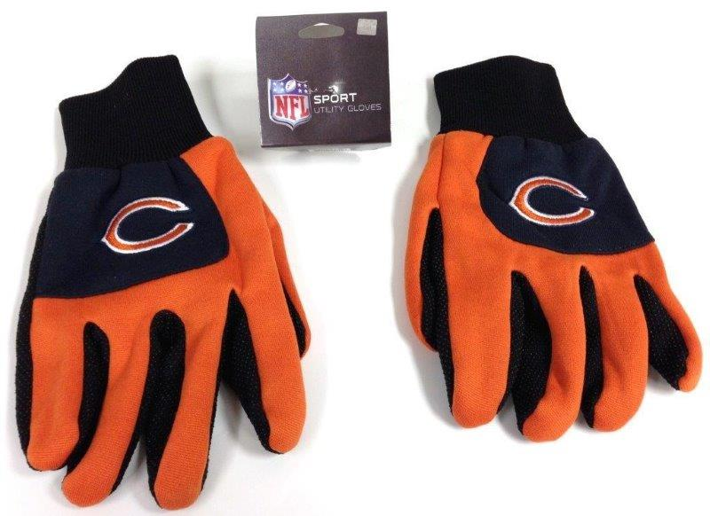 NFL Sport Utility Gloves - Bears - Sports Team Logo Gifts - Santa Shop Gifts