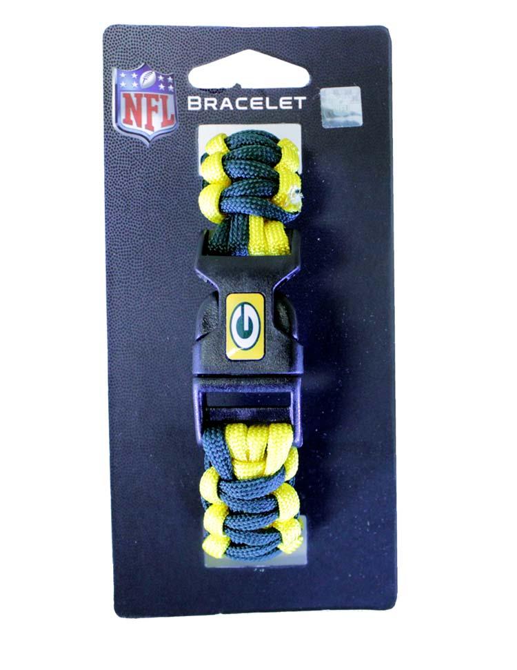 Packers NFL Survivor Bracelet - Sports Team Logo Gifts - Santa Shop Gifts