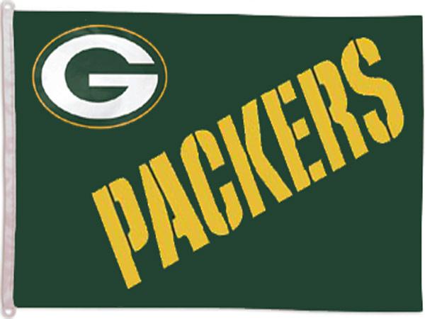 Green Bay Packers Banner Flag - Sports Team Logo Gifts - Santa Shop Gifts