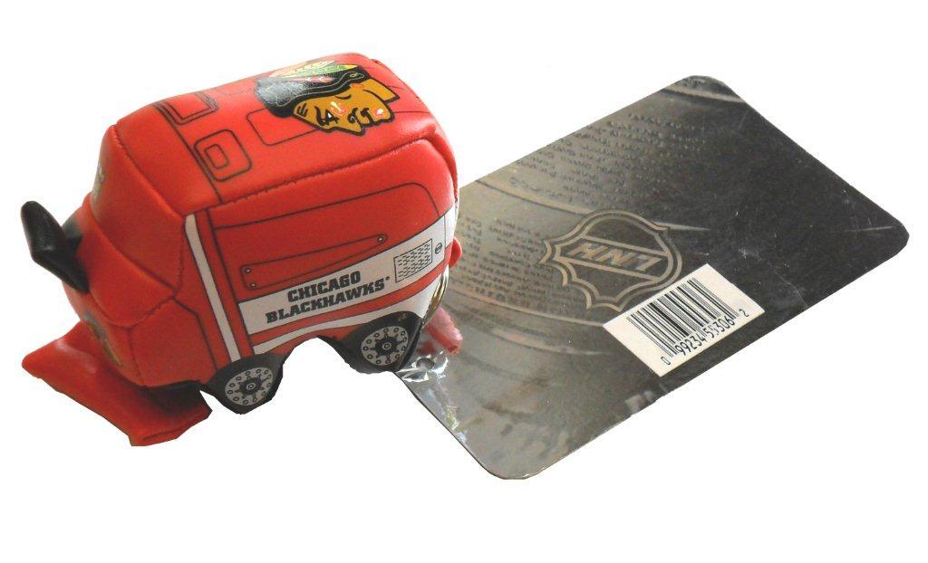 NHL Chicago Blackhawks Zamboni Keychain - Sports Team Logo Gifts - Santa Shop Gifts