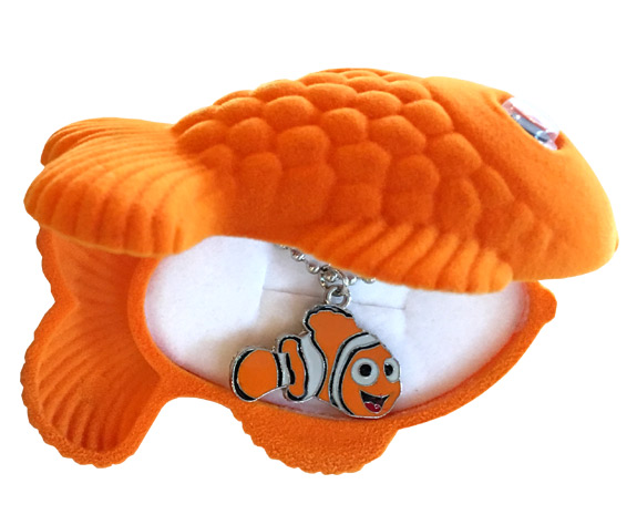 Nemo Sea Life Necklace in Matching Box - Jewelry Gifts - Santa Shop Gifts