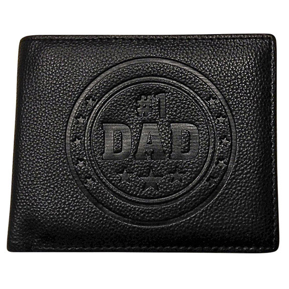 Number 1 Dad Wallet - Dad Gifts - Santa Shop Gifts