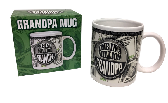 One In A Million Grandpa Mug - Grandpa Gifts - Santa Shop Gifts