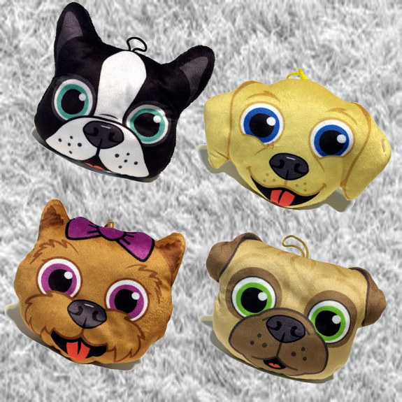 5'' Plush Pet Head Pillow