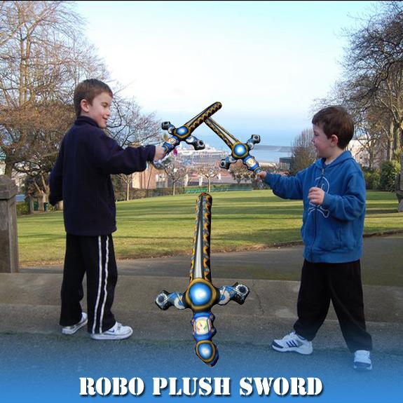 15'' Robo Plush Sword
