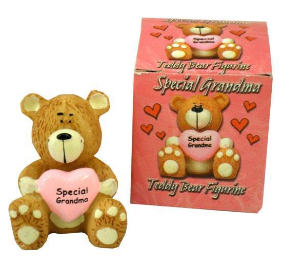 GMA Teddy Bear with Heart - Grandma Gifts - Santa Shop Gifts