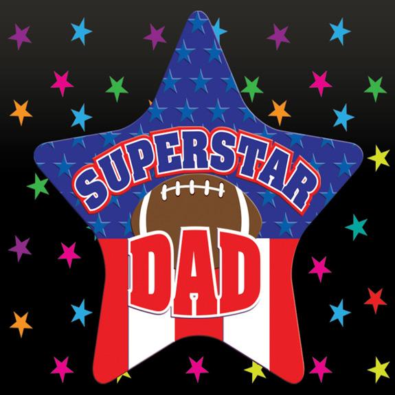 Superstar Dad Magnet