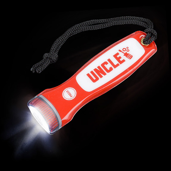Uncle Magnetic Flashlight on Lanyard - Uncle Gifts - Santa Shop Gifts