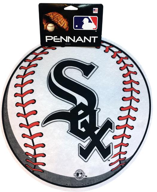 Chicago White Sox MLB Pennant - Sports Team Logo Gifts - Santa Shop Gifts