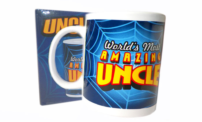 Worlds Most Amazing Uncle Mug - Uncle Gifts - Santa Shop Gifts