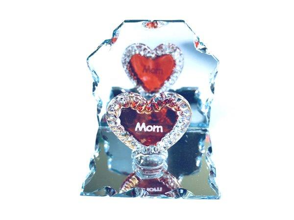 Mom Heart Mirror Plaque - Mom Gifts - Santa Shop Gifts