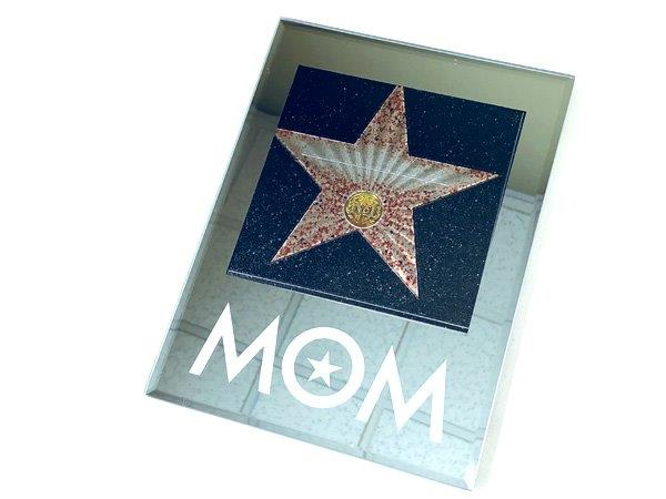 Mom Walk Of Fame Star Plaque - Mom Gifts - Santa Shop Gifts