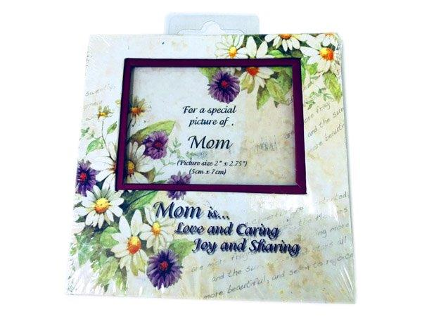 Mom is Love Photo Frame Magnet - Mom Gifts - Santa Shop Gifts