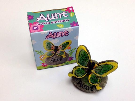Aunt Glitter Butterfly