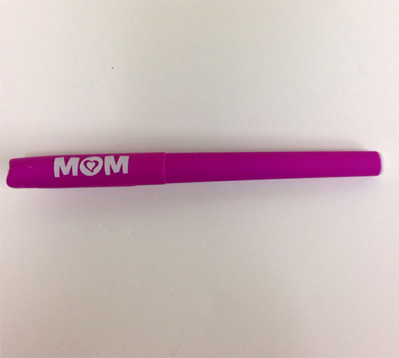 Mom Pen with Hearts
