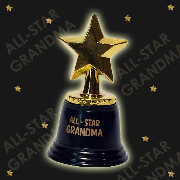 All Star Grandma Trophy