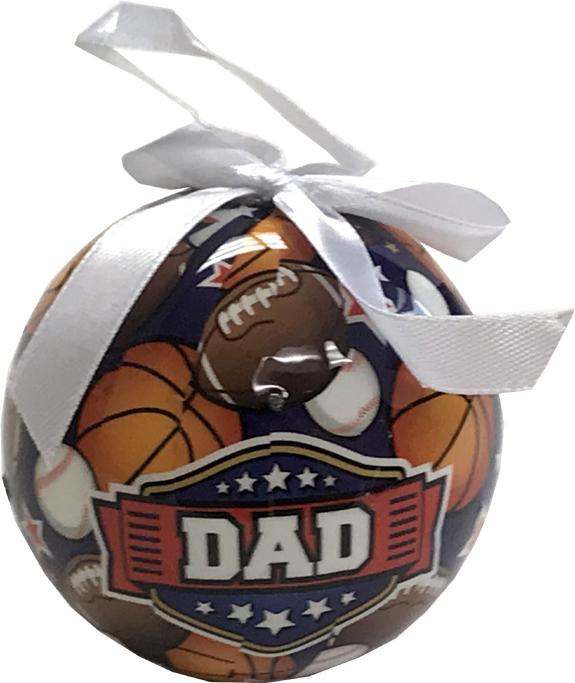 Dad Ornament - Dad Gifts - Santa Shop Gifts