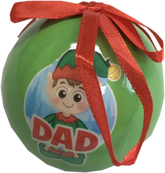 Dad Elf Ornament - Dad Gifts - Santa Shop Gifts