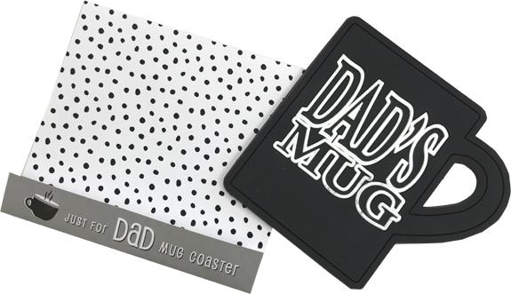 Dad Drink Coaster - Dad Gifts - Santa Shop Gifts