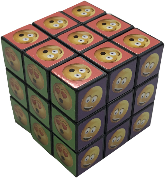 Emoji Puzzle Cube - Gifts For Boys & Girls - Santa Shop Gifts