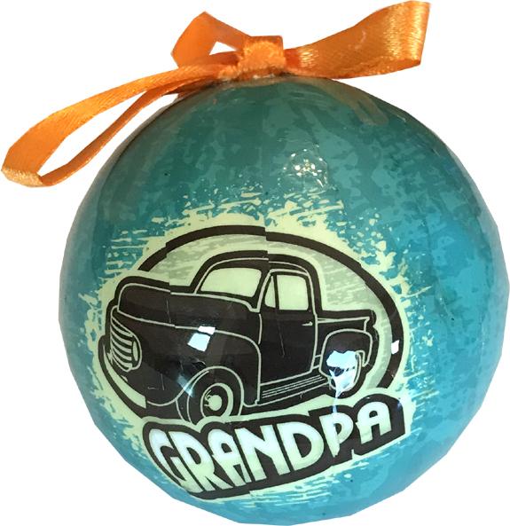 Grandpa Ornament - Grandpa Gifts - Santa Shop Gifts