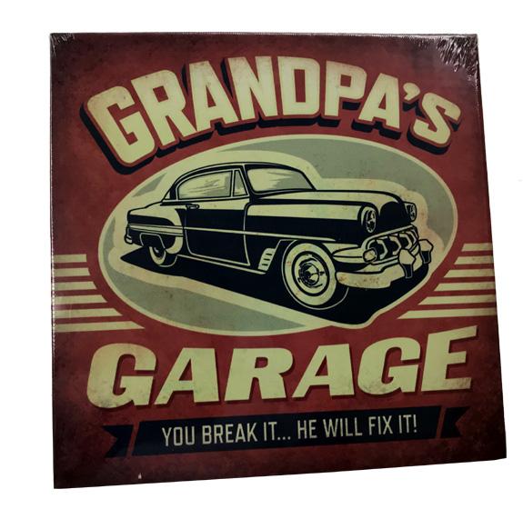 Grandpas Garage Plaque