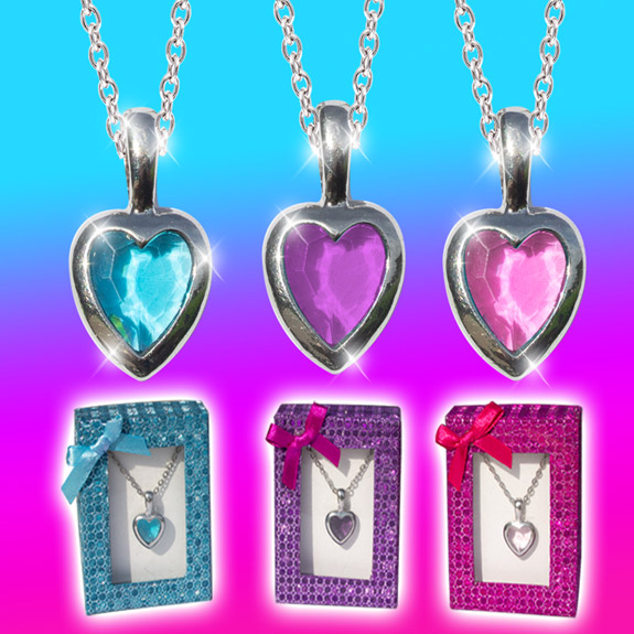 Jewel of the Heart Necklace - Jewelry Gifts - Santa Shop Gifts