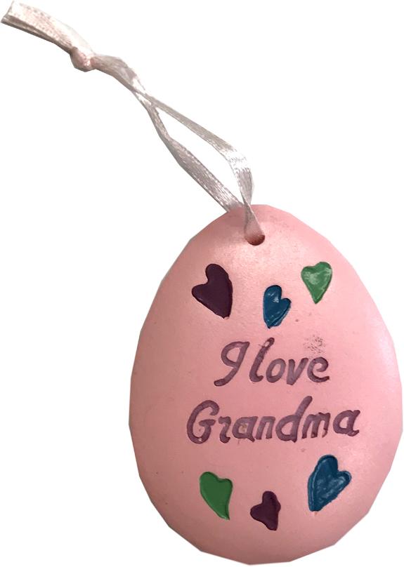 Grandma Ornament - Grandma Gifts - Santa Shop Gifts