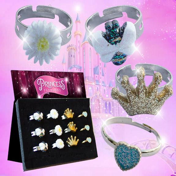 Princess Fashion Ring Assorted - Gifts For Boys & Girls - Santa Shop Gifts