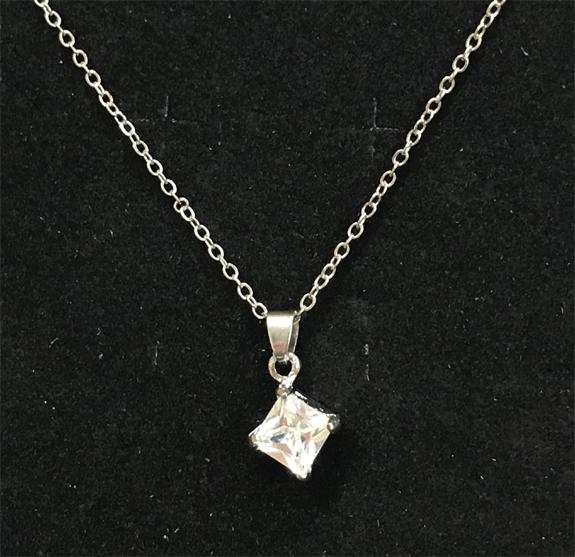 Diamond Pendant Necklace - Jewelry Gifts - Santa Shop Gifts
