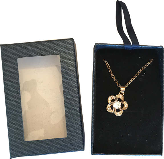 Flower Necklace - Jewelry Gifts - Santa Shop Gifts