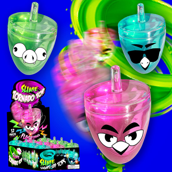 Tornado Top Flashing Slime - Gifts For Boys & Girls - Santa Shop Gifts