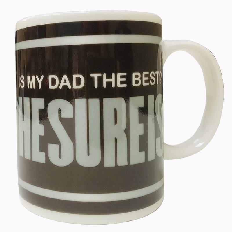 "Dad Mug - ""HESUREIS"" Best Dad - Dad Gifts - Santa Shop Gifts"