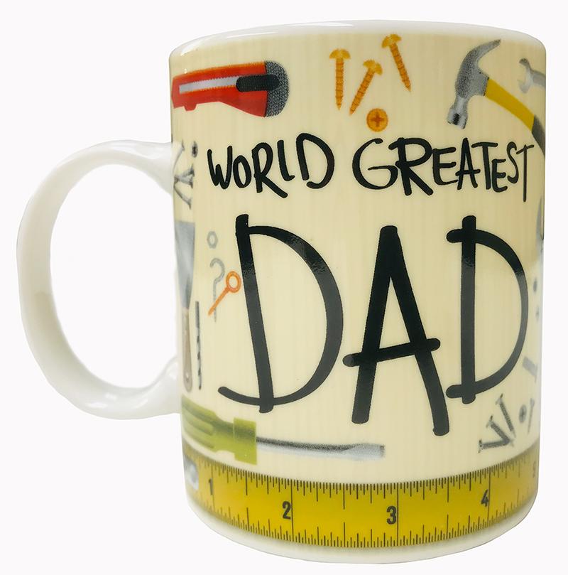 Worlds Greatest Dad Mug - Dad Gifts - Santa Shop Gifts