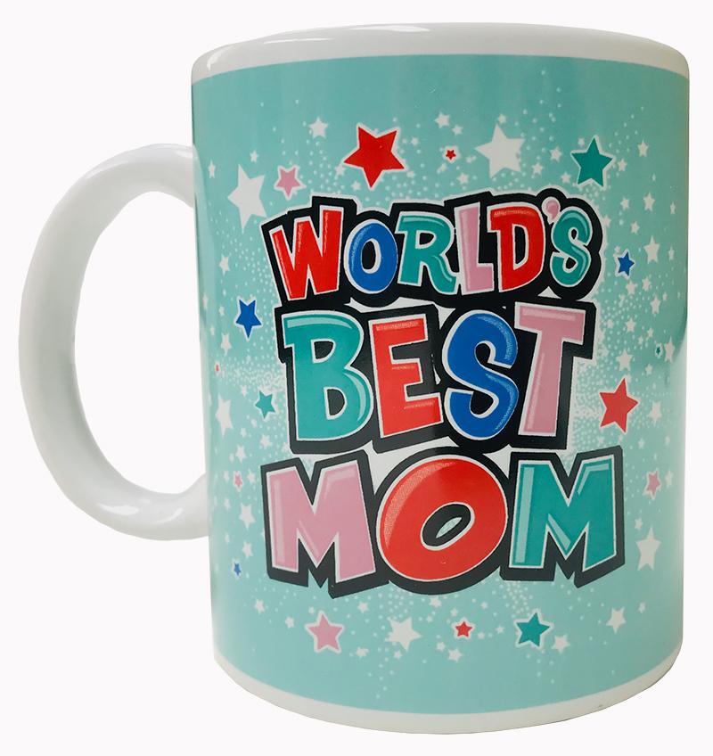 World's Best Mom Mug - Mom Gifts - Santa Shop Gifts