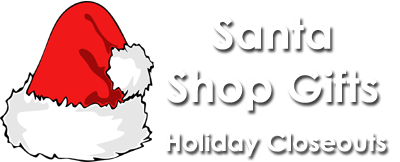 Santa Holiday Shop Gifts
