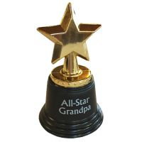 All Star Grandpa Trophy - Grandpa Gifts - Santa Shop Gifts