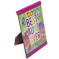 Best Aunt Ever Plaque - Aunt Gifts - Santa Shop Gifts