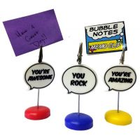 Bubble Notes Memo Clip - Gifts For Everyone Else - Santa Shop Gifts