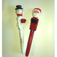 Holiday Light Up Punch Pen - Christmas - Holiday Gifts - Santa Shop Gifts